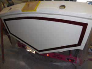 Old wooden boat restoration - JDOC Marine