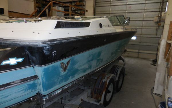 GELCOAT BOAT REPAIRS